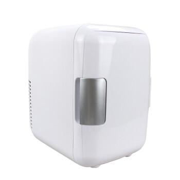 4 Lの家の車の両用冷蔵庫の自動車の車載の小さい冷蔵庫の冷熱兼車の屋外のミニ冷蔵庫の贈り物の白い家の車の両用