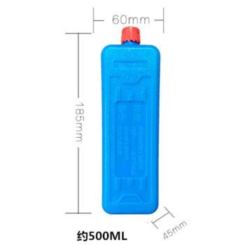 氷の結晶のもとは寒い扇風機の専用の氷の結晶の箱/氷の結晶の青い氷、氷の箱の冷蔵の寒い仲人の箱の中で号の青いです