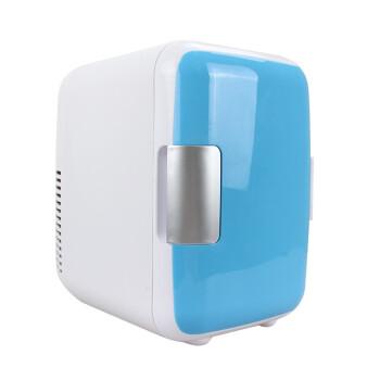 邦邁伲4リットル車載冷蔵庫12 Vミニ冷暖小冷蔵庫4 L車家兼用小型寮家庭用冷蔵庫青色4 L 12 V車用