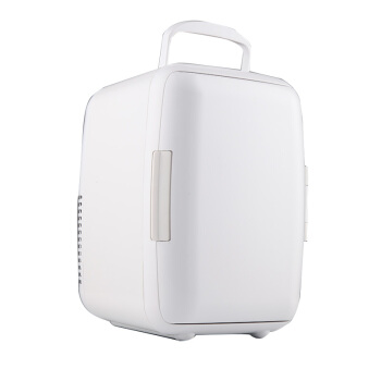SOMATE車載冷蔵庫ミニミニ冷蔵庫の家の車の冷暖両用車載保存冷蔵庫の化粧品マスク冷蔵保存箱6 L白