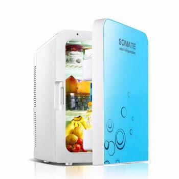 ミニ冷蔵庫家庭用ミニ冷蔵庫冷蔵庫寮冷蔵箱冷凍母乳車載冷蔵庫SN 8910リルダンベル冷凍庫青放肉三階