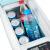 NFANFA車載冷蔵庫冷凍加熱ミニミニミニ小型冷暖箱自動車用便利冷蔵庫12 V 8 Lダブルコア数顕-車用