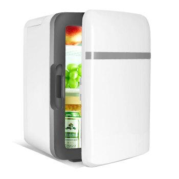 途利達車載冷蔵車用家庭用二合一10 Lの小型冷蔵庫冷凍庫で冷凍した冷蔵庫のオフィス宿舎用冷蔵庫の白さ