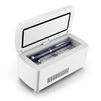 SOMATE腹膜透析液38度恒温箱2-8度イシュー成長ホルモン冷蔵箱牧畜豚精貯蔵老人医薬品専用箱イシュー専用小箱シンプル(電池なし無バッグ)