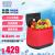 スウェーデンMOBICOOL T 25 L車載冷蔵庫半導体冷温箱保温箱自車旅行小冷蔵庫静音冷暖両用オープンデザインT 25(赤)標準装備