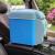 RUNDONG 6リットル自動車冷凍庫便利式車用冷蔵庫冷暖房自動車小冷蔵庫自動車用品スーパーマーケット7.5 L空色