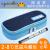 インシュン冷蔵箱便利インシュン弁当箱外装保温バッグアイスパックSサイズ紺色+2氷条