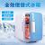 物语は车载冷蔵库の自动车の冷蔵库のミニ冷蔵库の4 Lの冷蔵库の家の车の2つの冷蔵库の保温箱のピンクがあります。