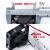 マザーボードのCPU放熱大華監視ハードディスクのビデオデッキのファンの側面5 V 12 V 4 6 CMのファンのセットはシリコーンを送ります。